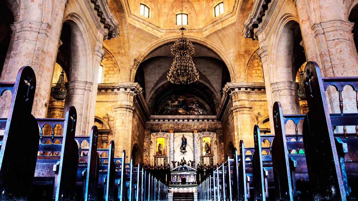 catedral de la habana interior
